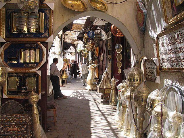 Morocco_bazaar_market